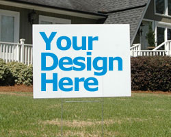 Design Your Own Outdoor Signs